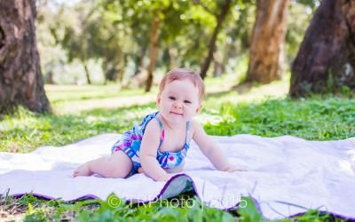 Clara's 6 Month Photos