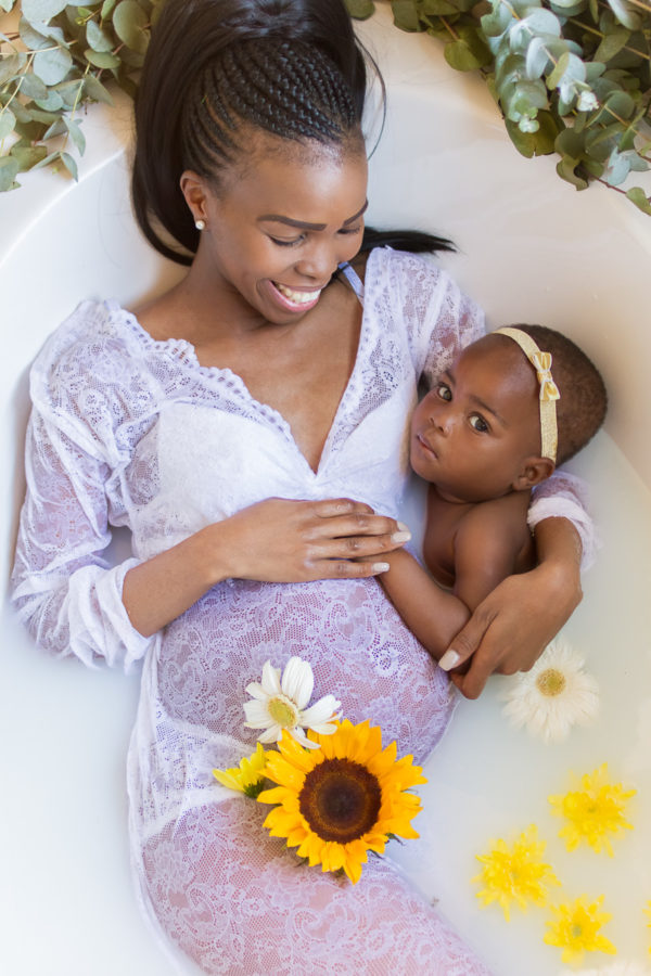 Maternity photoshoot – Siblings incl.